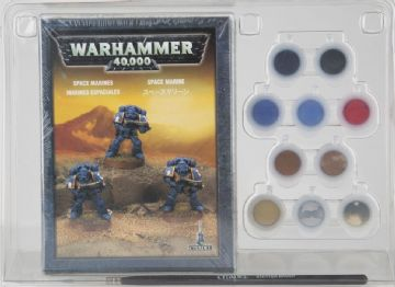 Games Workshop Warhammer 40000 40K Space Marine Paint Set 60-35